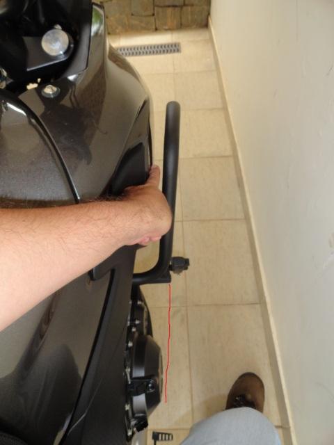 Protetor motor Chapam com pedaleiras 167l3jd