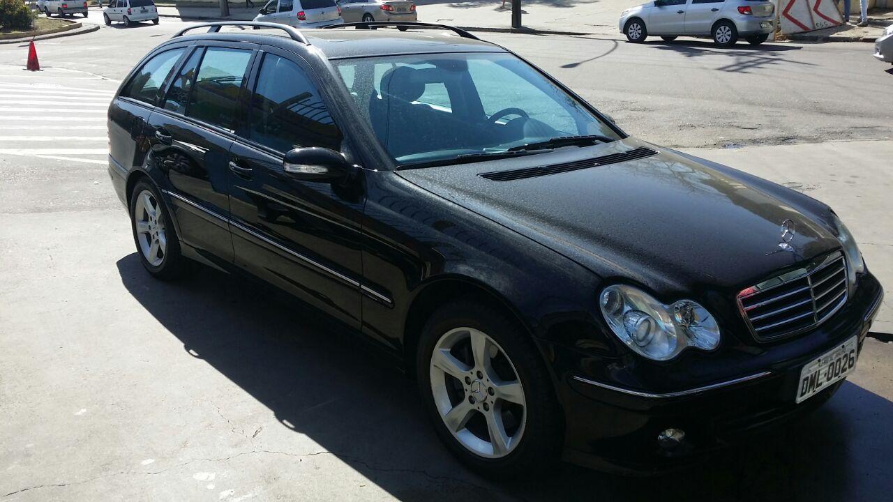 (ARQUIVO) Mercedes c230 touring V6.   R$52000,00 172yw4