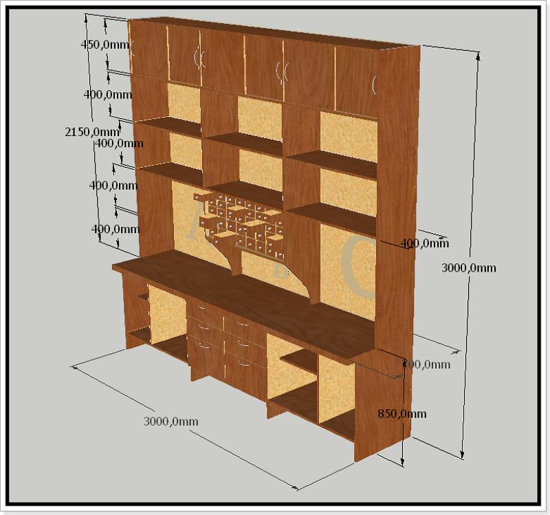 Consulta: busco ideas para hacer estanterías metal 1tod1x