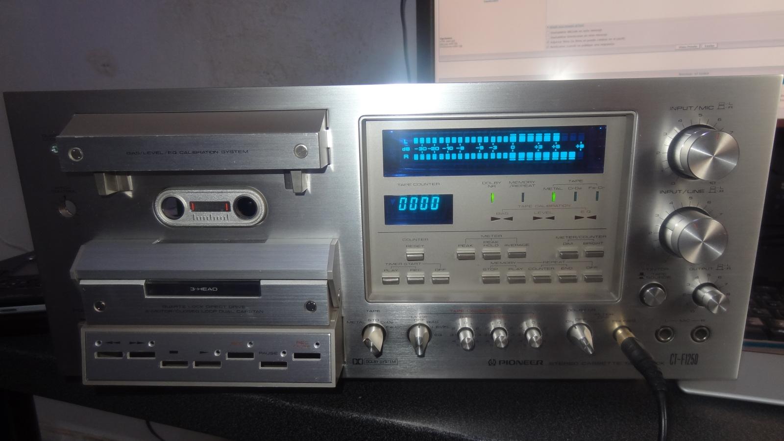 Pioneer CT-F1250 1z3o5kp