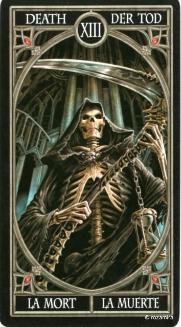 Готическое Таро Анны Стокс /Anne Stokes Gothic Tarot   (скан карт) 210eo29