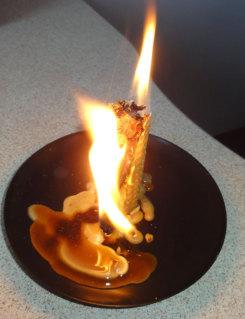 Мастер-класс по изготовлению магической свечи из вощины на желание. 21enp1y