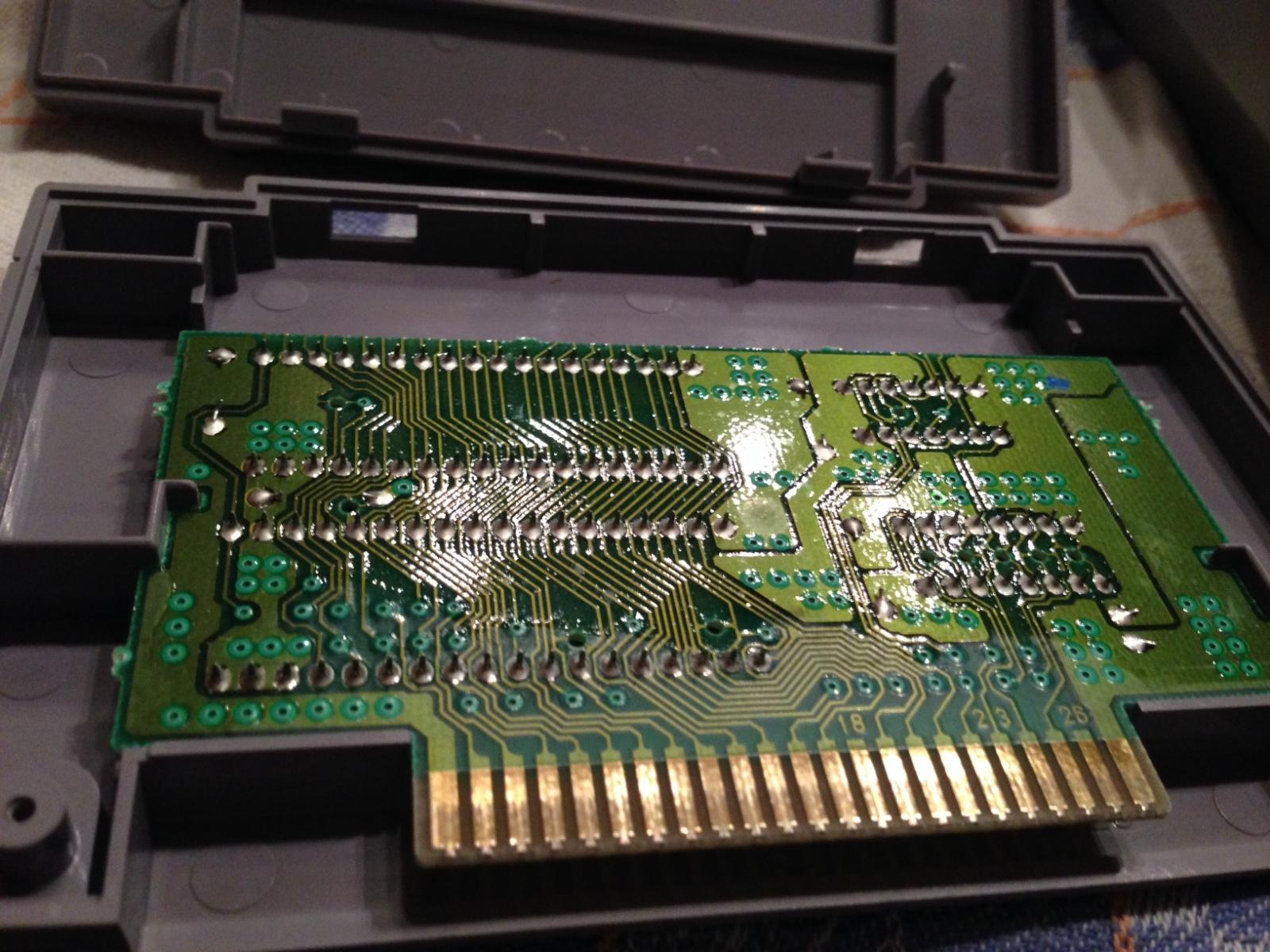 SNES - Super Nintendo en panne - plus d'image 21jp40n