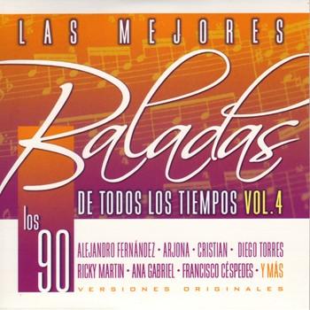 Las Mejores Baladas De Todos Los Tiempos Vol.4 (Los 90) (NUEVO) 24etabo