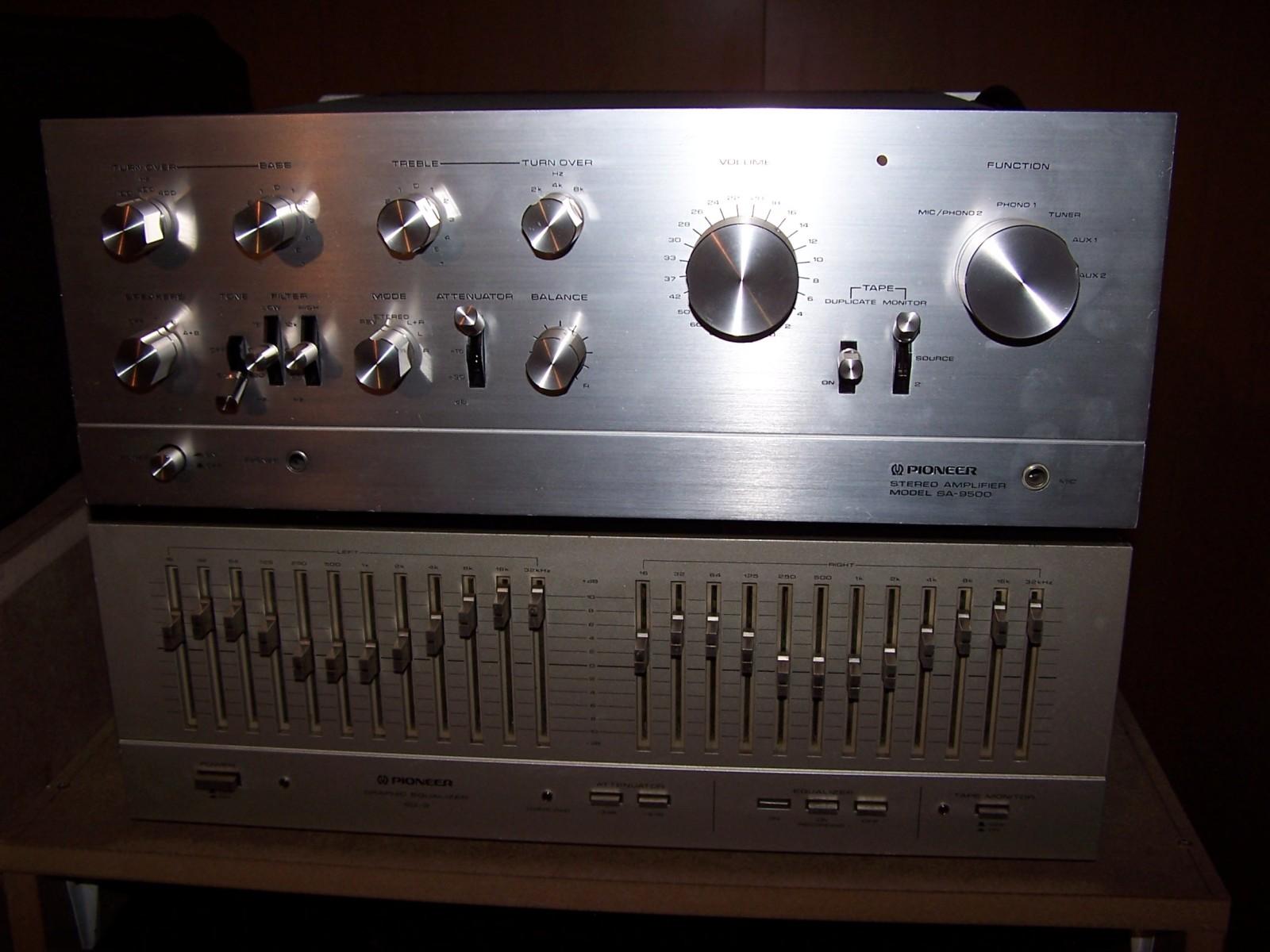 Pioneer CTF 1000 y SA 9500 24zjh5e