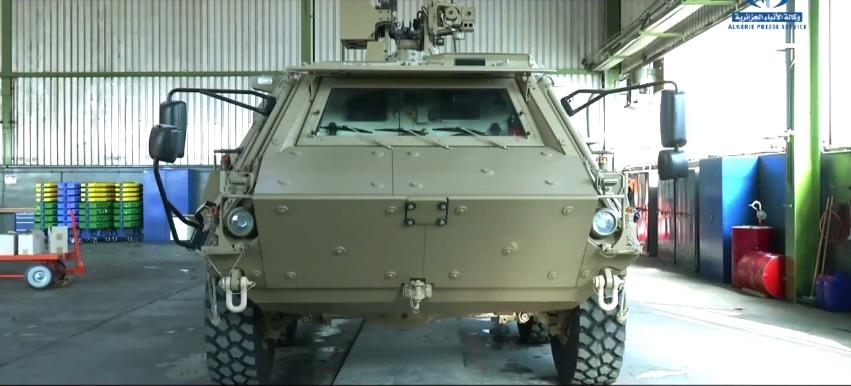 الصناعة العسكرية الجزائرية ... مدرعات ( فوكس 2 ) 25t86cx
