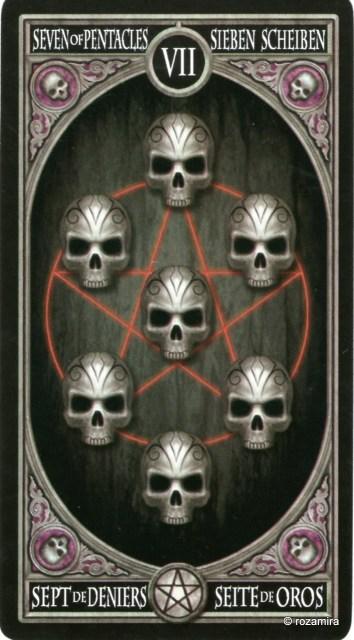 Готическое Таро Анны Стокс /Anne Stokes Gothic Tarot   (скан карт) 29dimmp