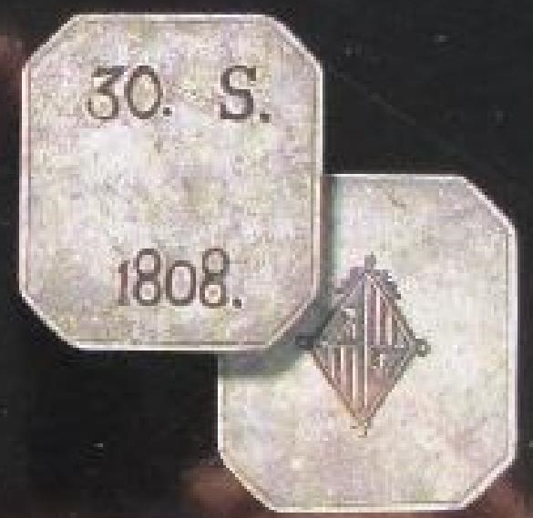 Sobre la variante 30 SOUS octogonal sin la leyenda FER. VII 29o5xkz