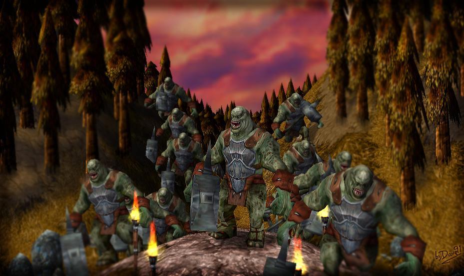 Hill Troll (Troll de las Colinas) - LOTR 2egb580