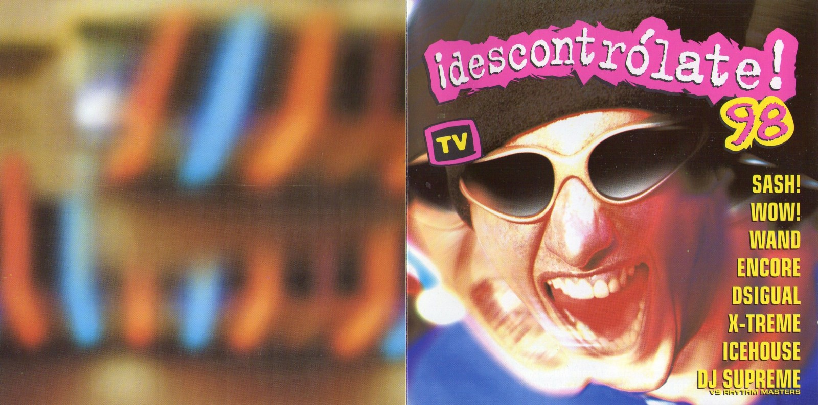 descontrolate 98 (1998) -  2 cds  -  320kbps  - boy records 2el87y0