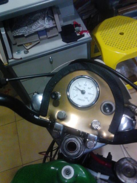 Temperatura Motor Mobylette 2j43jg0