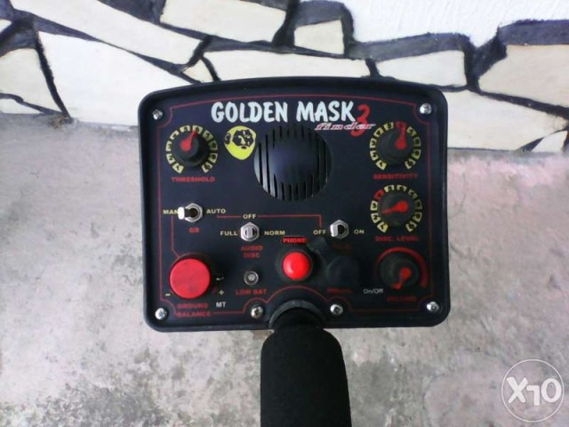Металотърсач Golden Mask 3 2le6s2c
