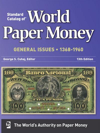 Alguien tiene el Standard Catalog of World Paper Money General Issues 1368 -1960 13th Edition 2lihkjo