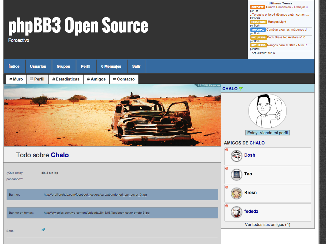 phpBB3 Open Source 2m4xc00