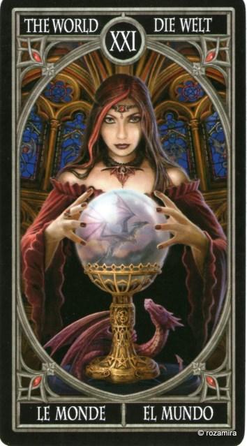 Готическое Таро Анны Стокс /Anne Stokes Gothic Tarot   (скан карт) 2m6lb1t