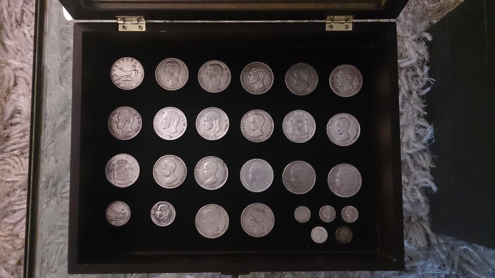 Colección de duros del Centenario de la Peseta 2mhiesz