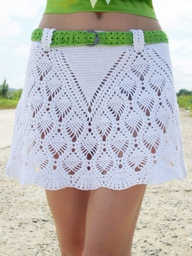 CROCHET - Busco patrón falda calada a crochet. 2q9fjtd