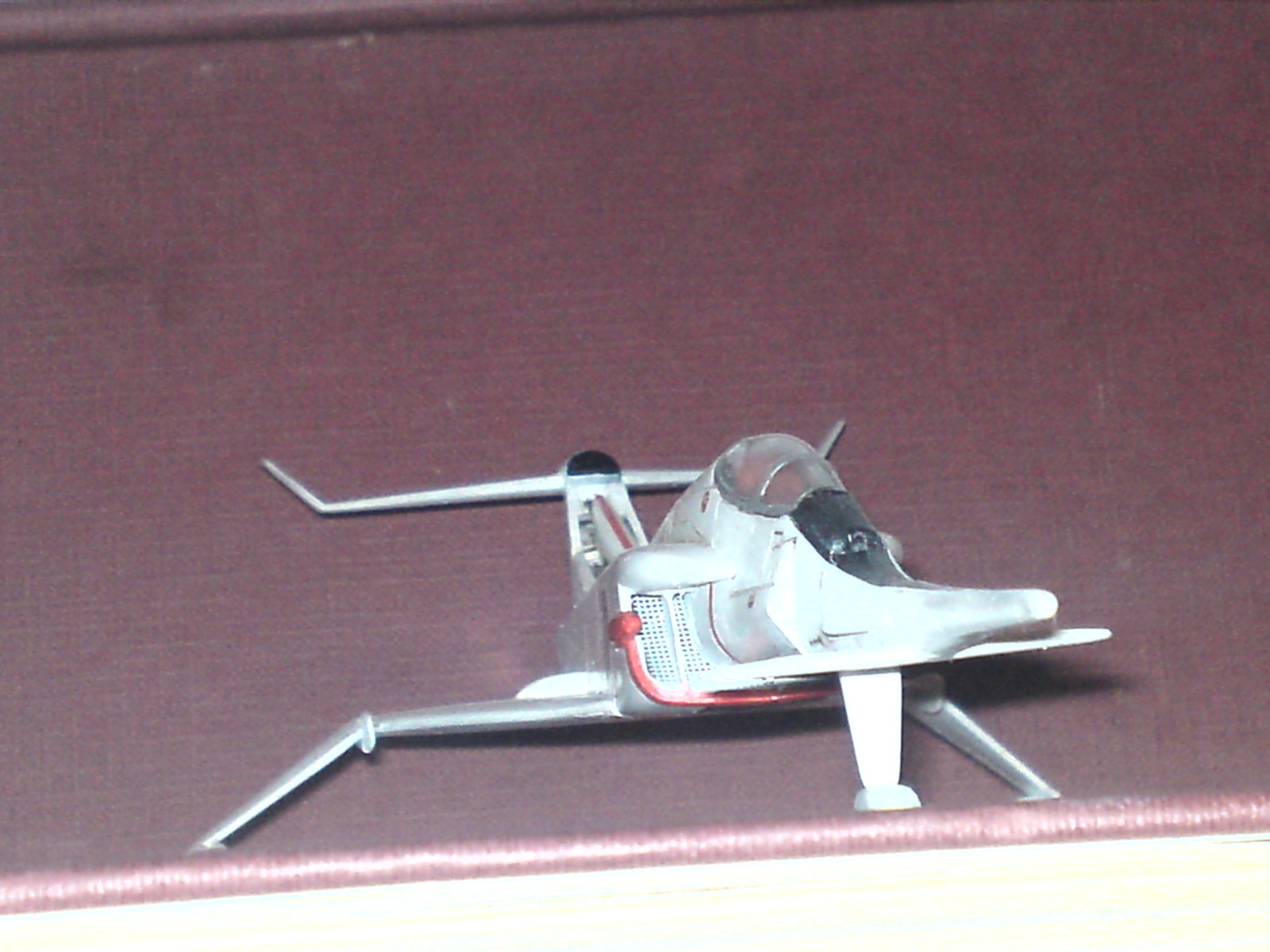 Captain Scarlet's Angel Interceptor 1/72 Airfix 2r3ky3a
