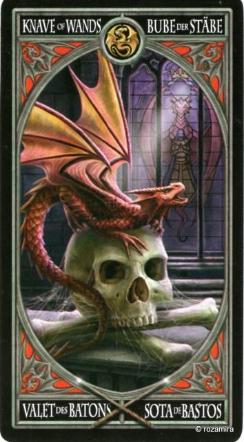 Готическое Таро Анны Стокс /Anne Stokes Gothic Tarot   (скан карт) 2sbsoz6