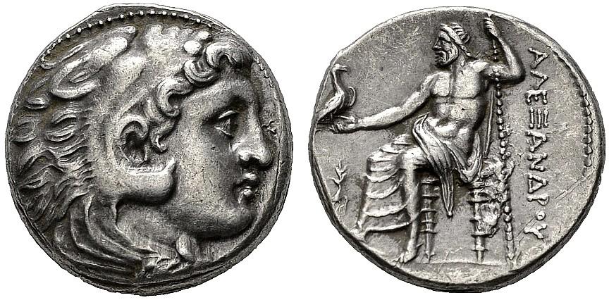Tetradracma de Alejandro III Magno 2u7yp6q