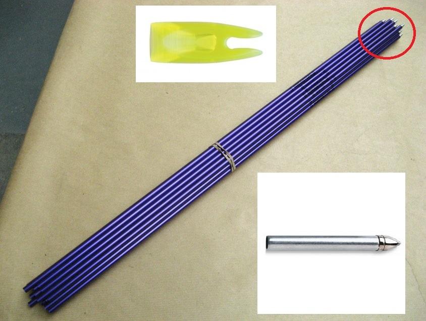 Flechas de alumínio da Easton no Brasil, quem vende? 2vkhxy1