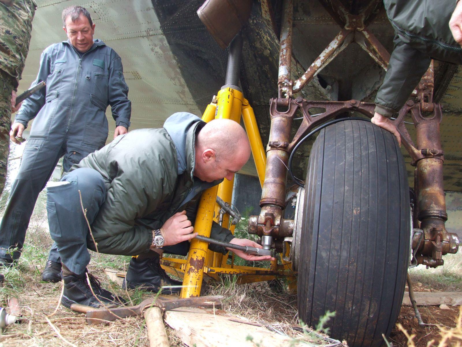 Douglas C-47 spašena u 93zb Zemunik 2vshv90