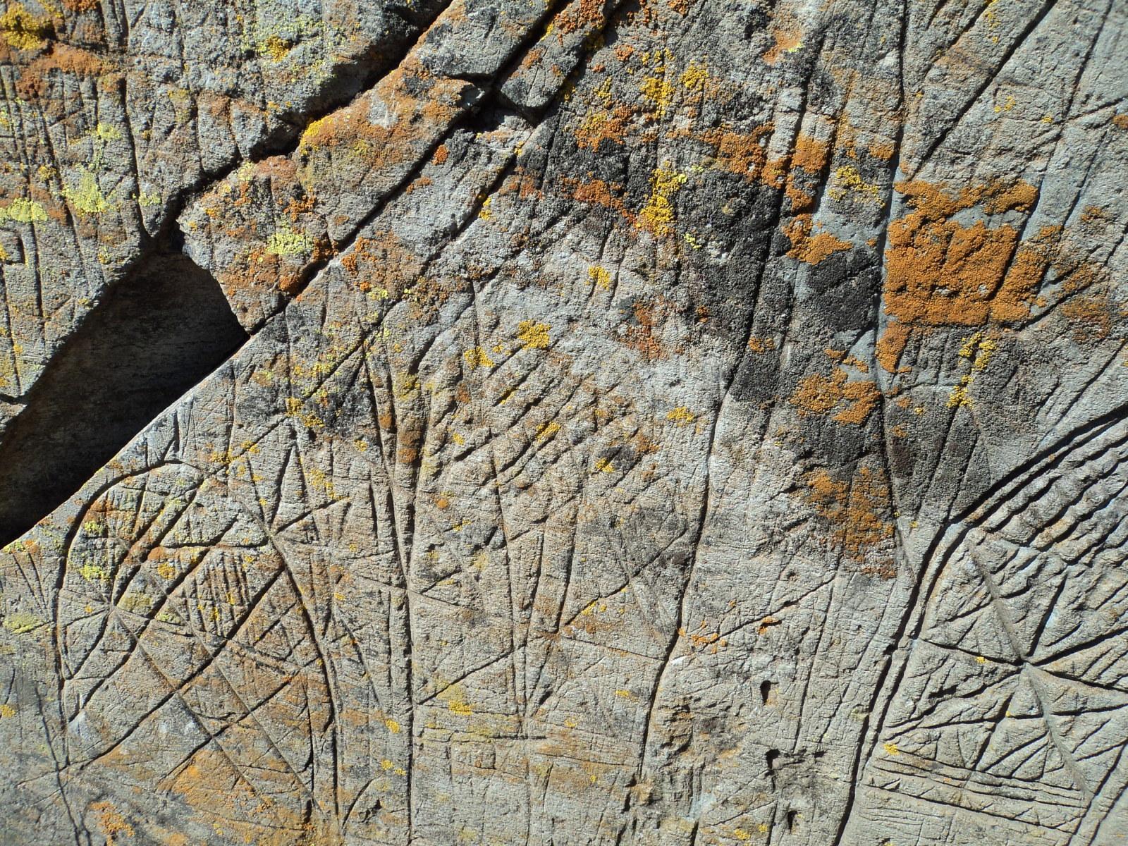 ayuda  para estas marcas en una piedra 2ylsais