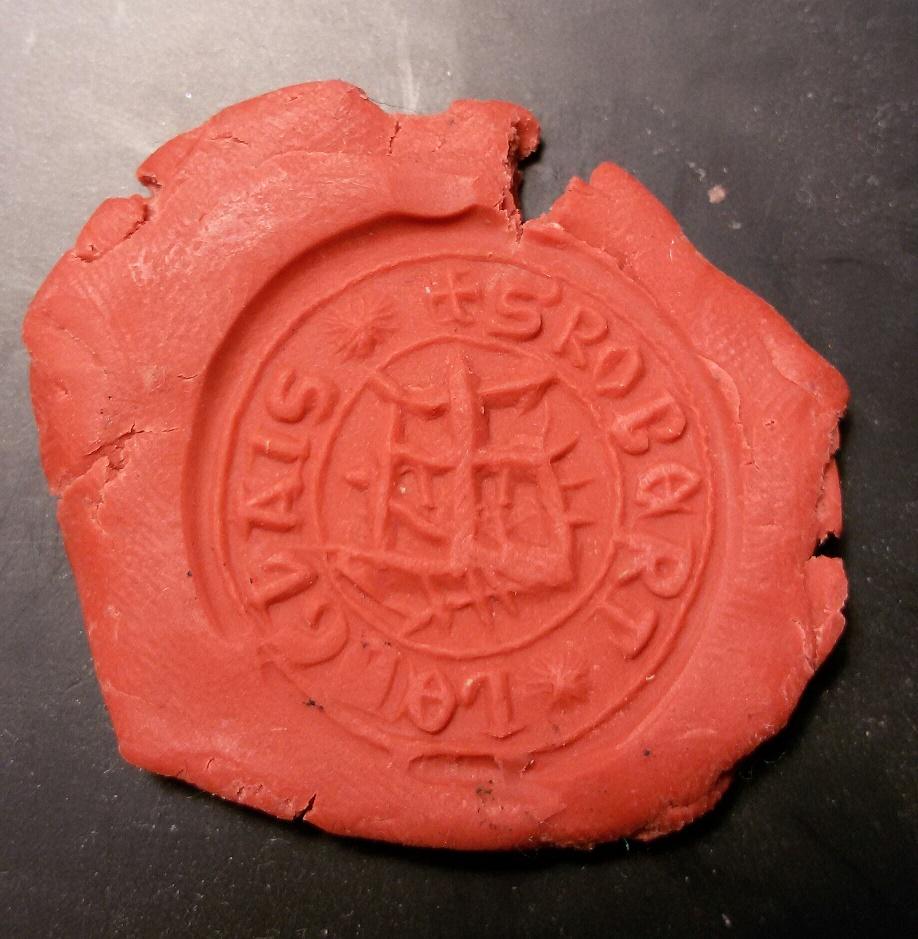 sello de lacre medieval a descifrar 2zr15c9