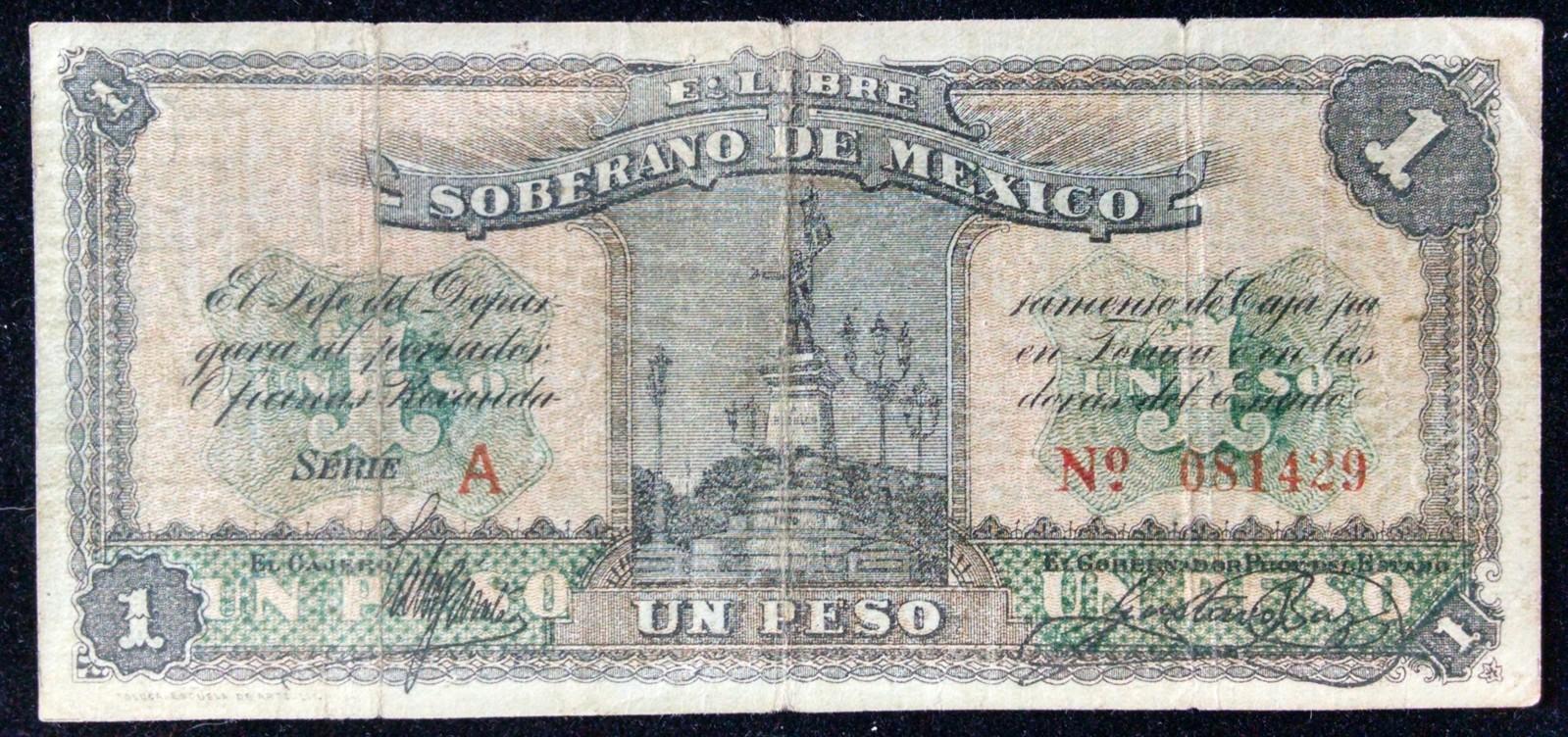 1 peso 1915 Mexico 301q5oi