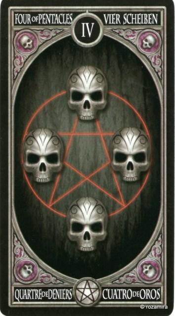 Готическое Таро Анны Стокс /Anne Stokes Gothic Tarot   (скан карт) 30lmn9g
