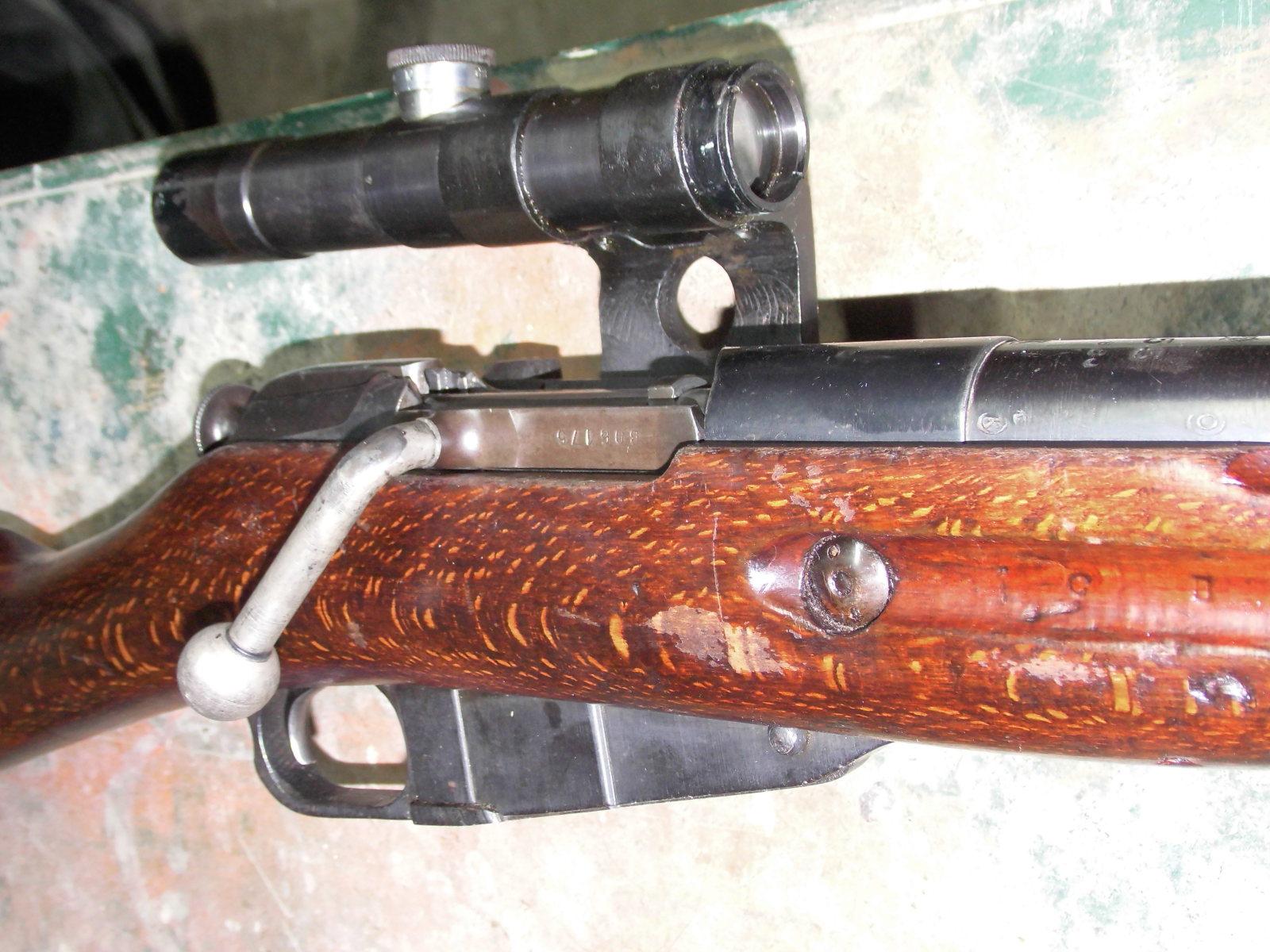 Enfin mon Mosin Nagant M44 Sniper 30wv1aa