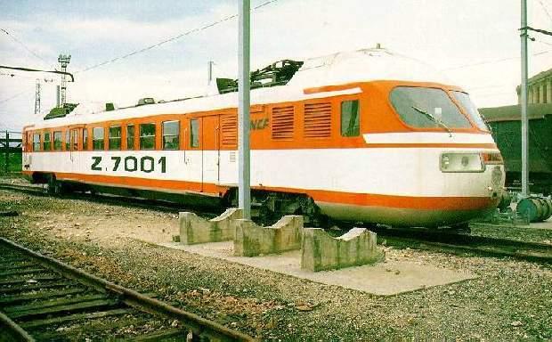 autorail Z 7001 ZEBULON 3136te8