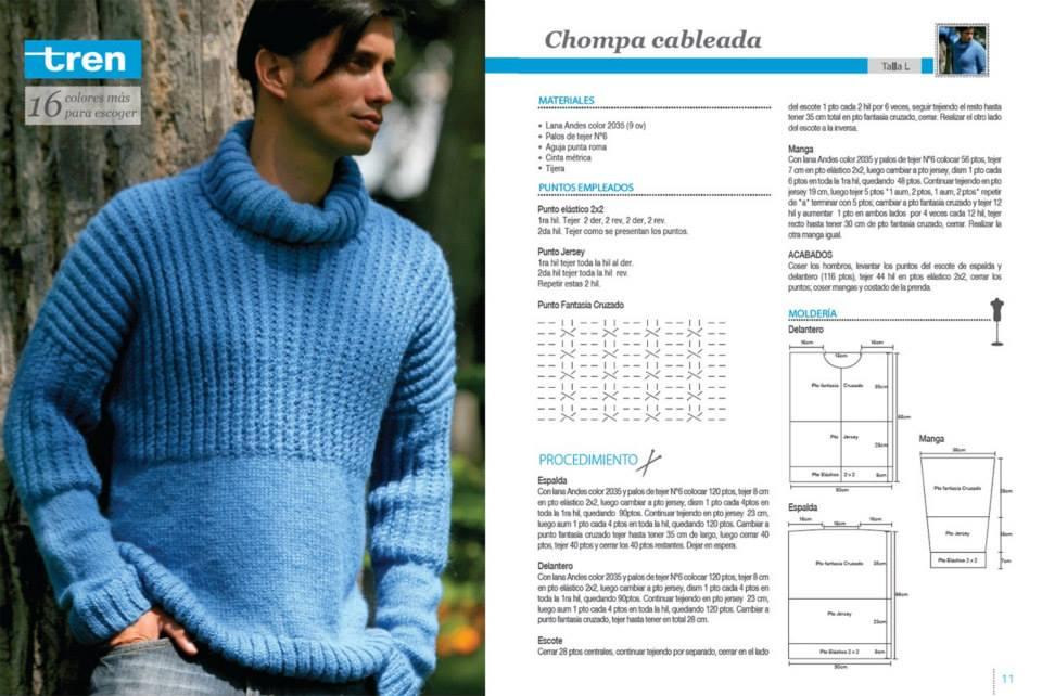 tejido - Algunos patrones de tejido para hombre 33dk2vt