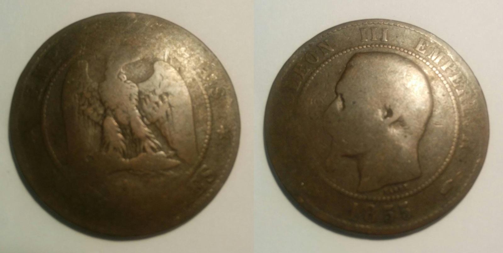 napoleon III 1855 limpieza ? 348hn2a