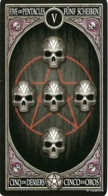 Готическое Таро Анны Стокс /Anne Stokes Gothic Tarot   (скан карт) 34opv8m