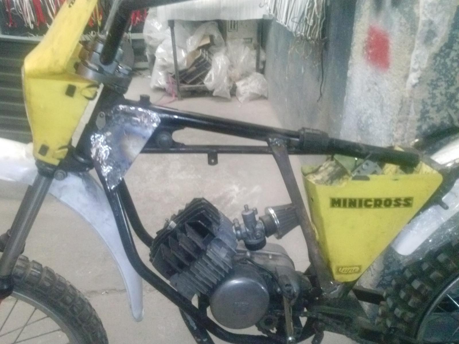 Puch Minicross Super con preparacion Cobra 350ku44