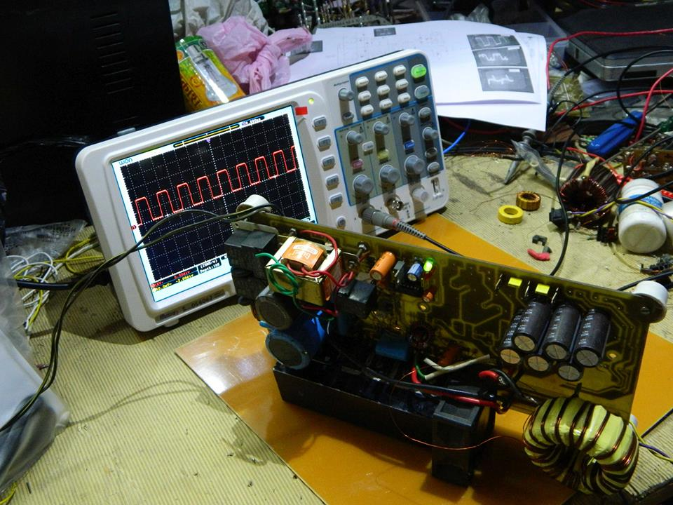 2.5kw smps using TL494 35ioaaa