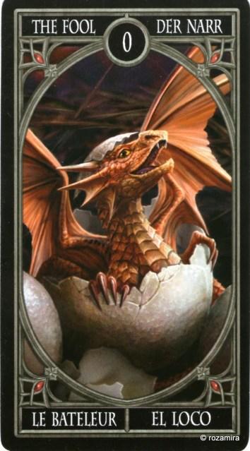Готическое Таро Анны Стокс /Anne Stokes Gothic Tarot   (скан карт) 36hrl