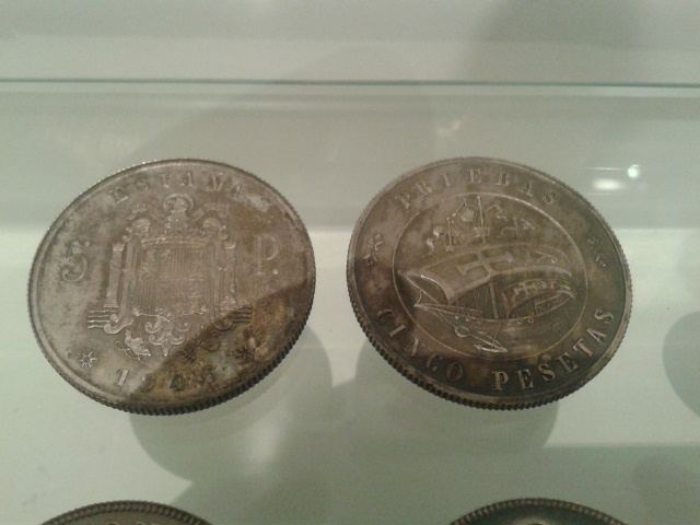 Prueba 5 pesetas 1946 5ju3ht