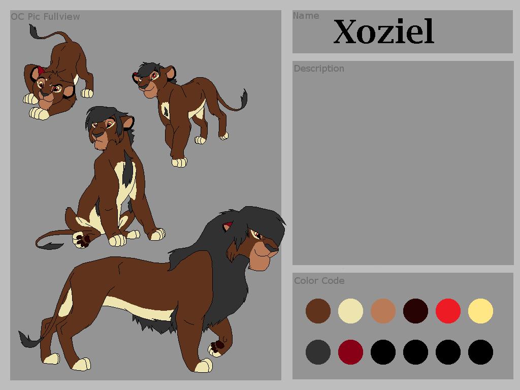 Xoziel, personaje de rol 5o7fh5