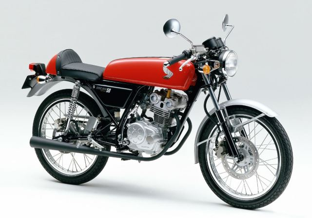La réplica de la Honda Dream  5oexd