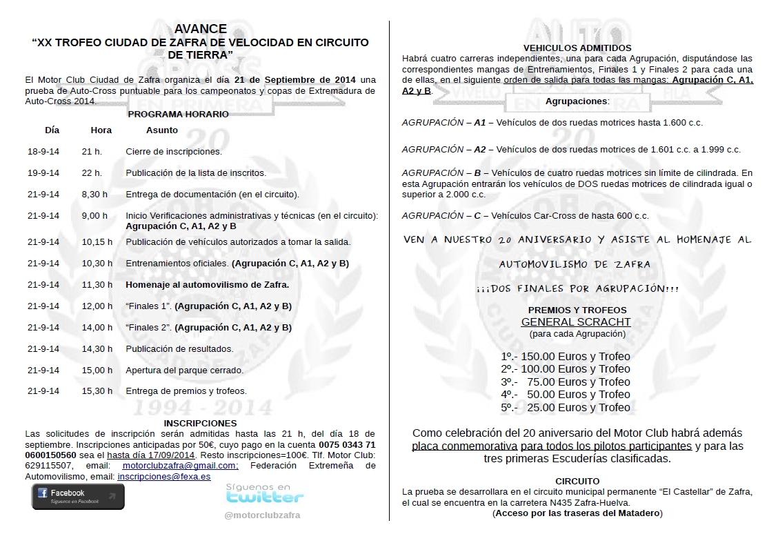 [EXTREMADURA] XX AUTOCROSS TROFEO CIUDAD DE ZAFRA [21 DE SEPTIEMBRE] 6r64pi