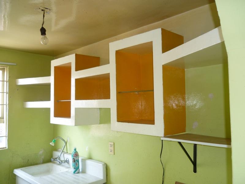 Mueble, gabinete y arcos, hechos con Tablaroca 6rugzn