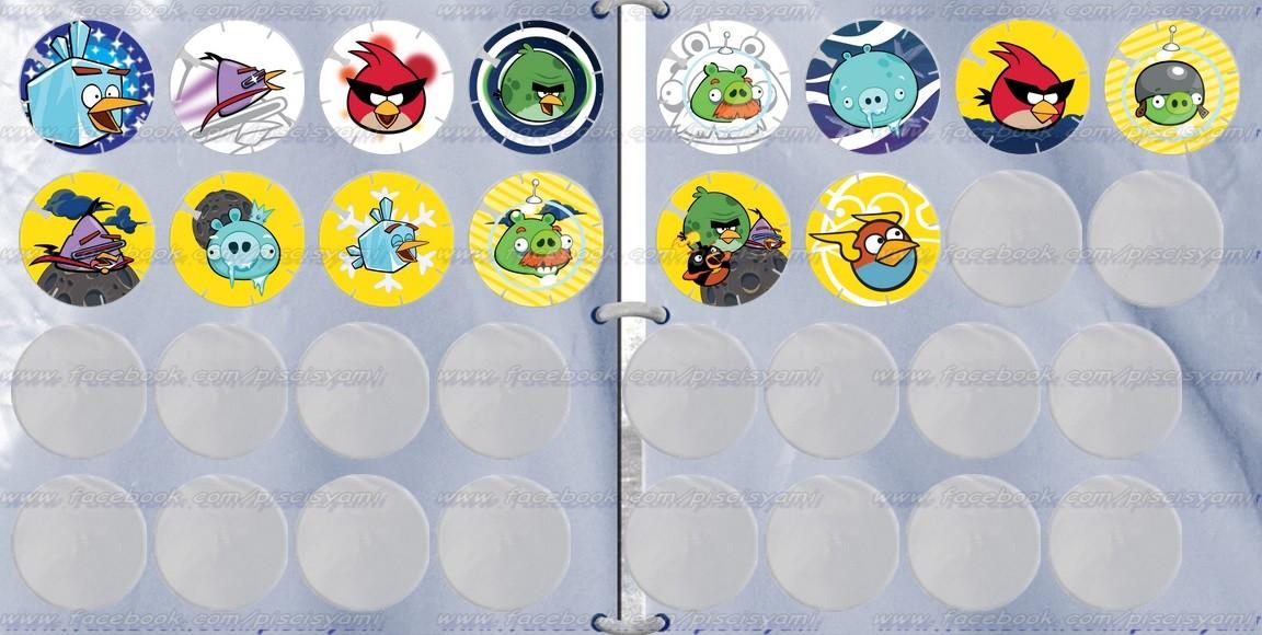 Vuela Tazos de Angry Birds Space 9timub