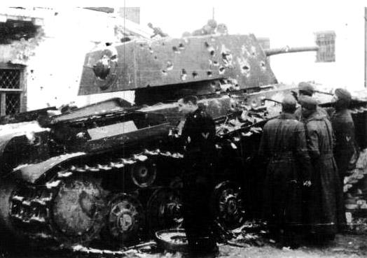 """КВ-1 """"27 ноября 1941 года г. Венев""""(Звезда 1/35) 9zvx50"""