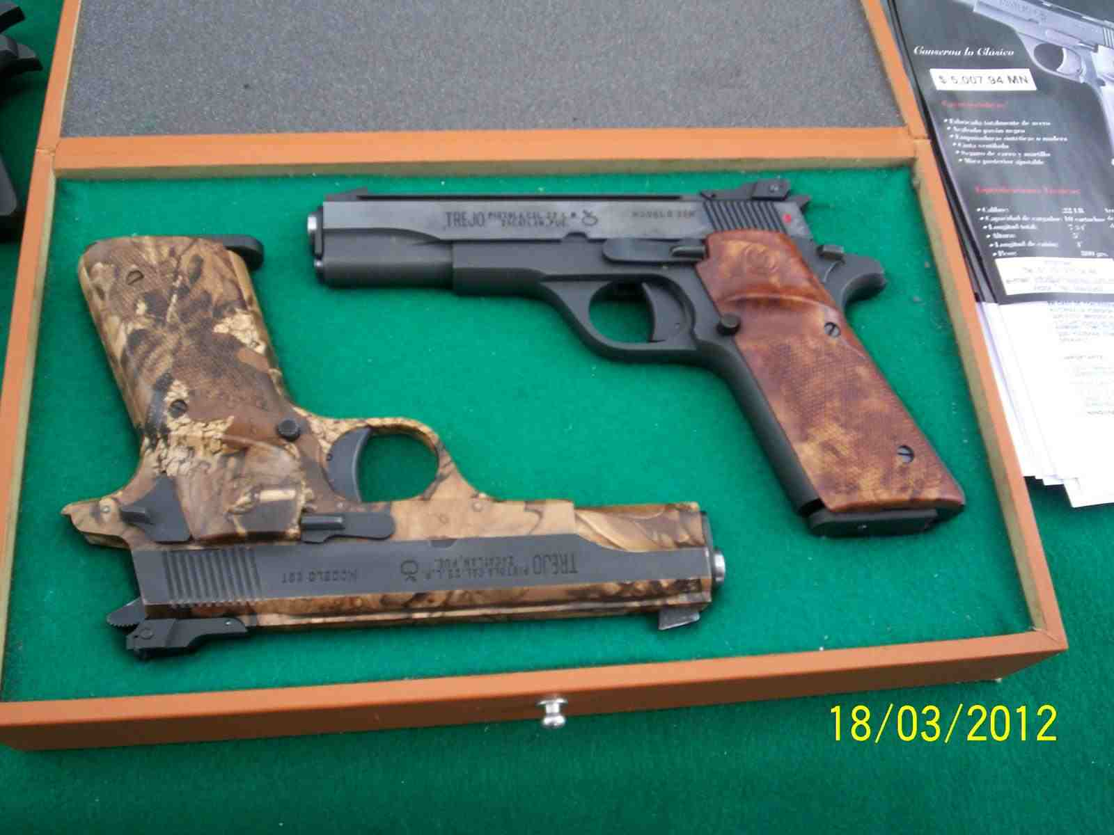 Pistolas Trejo B5g0pg