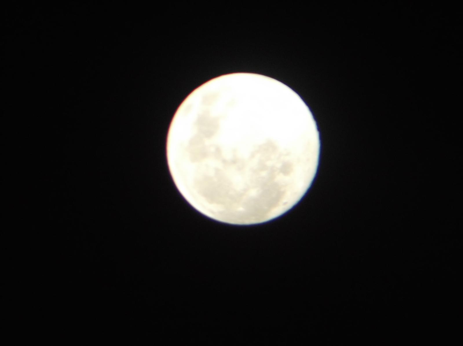 Fotos da Lua - Câmera compacta + Binóculo 10x50 Egxveh