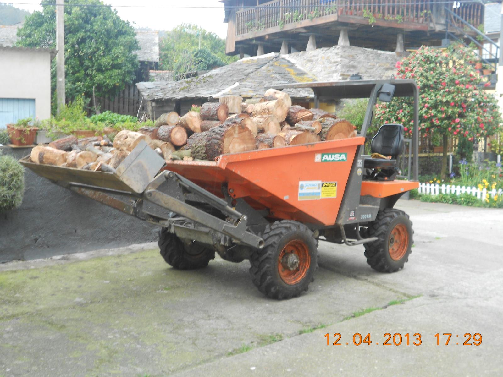 Fotos de agria 9900 E Y dumper Ausa Esng29