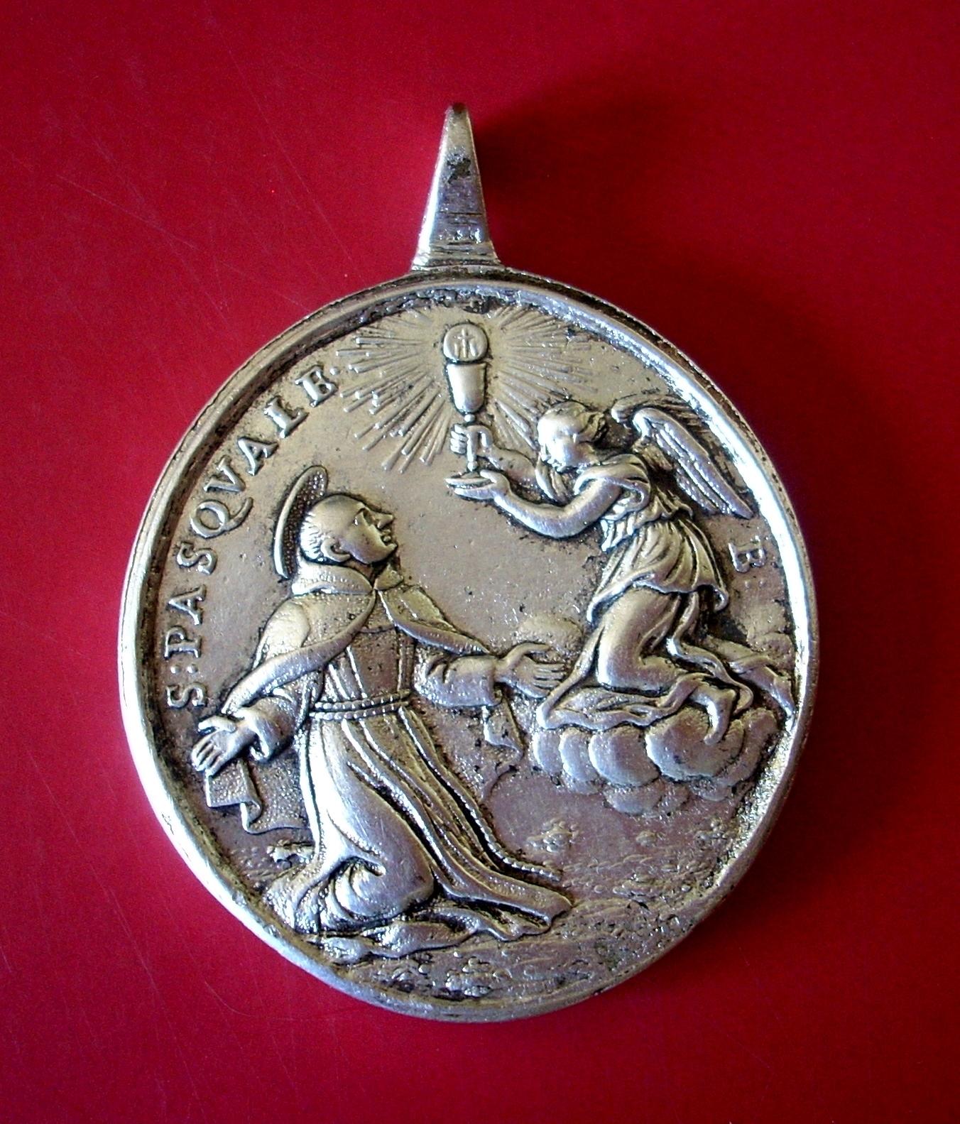 Medalla San Pascual Bailón / San Francisco de Asís  (R.M. SXVIII-O267) Ff0nzp