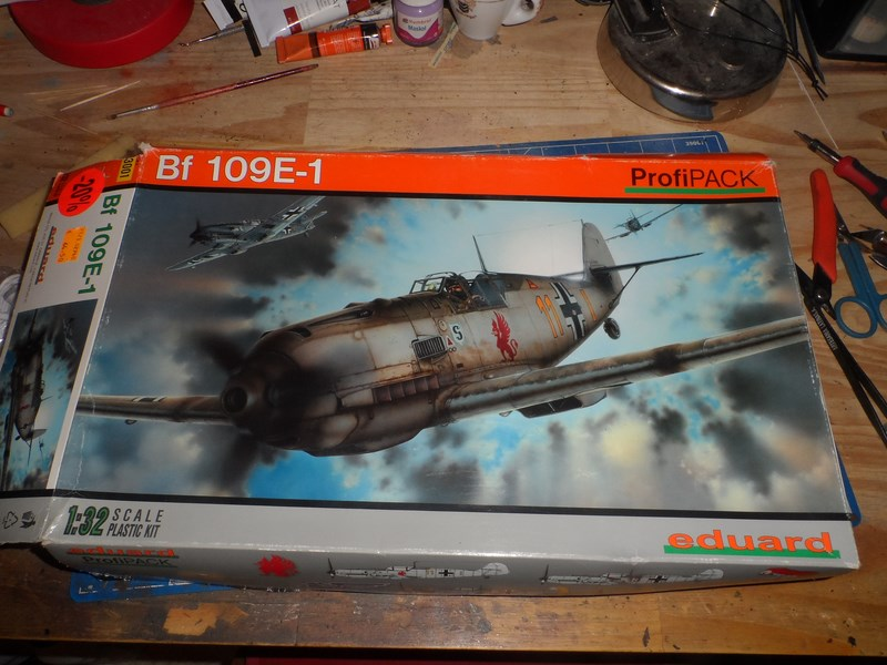 Me Bf 109E-1 Eduard Profipack 1/32ème Fk1z6r